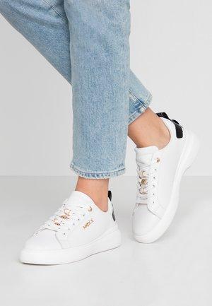 DINTE - Sneakers basse - white/black