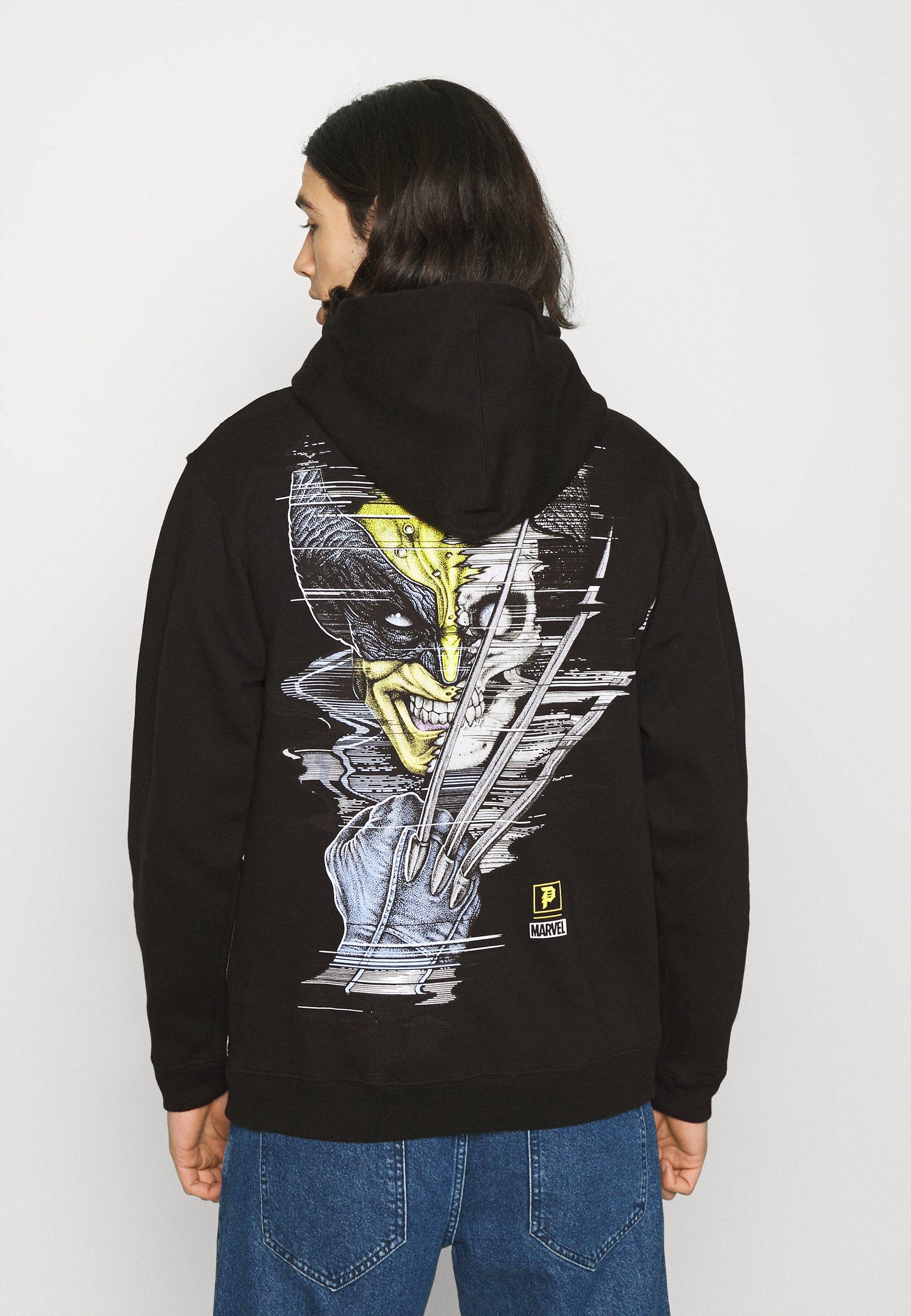Men WOLVERINE HOOD - Sweatshirt