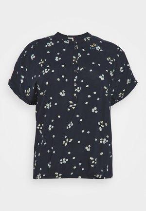 RICOTA CAMOMILE - Print T-shirt - navy
