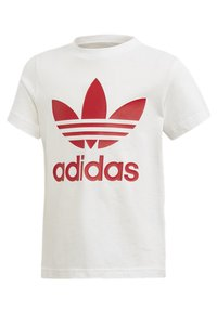 adidas Originals - TREFOIL SHORTS TEE SET - Szorty - red/white