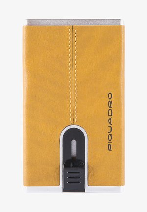 SQUARE - Business card holder - yellow