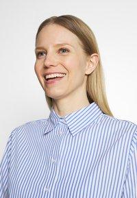 Opus - FEORGIA - Button-down blouse - blue mood - 3