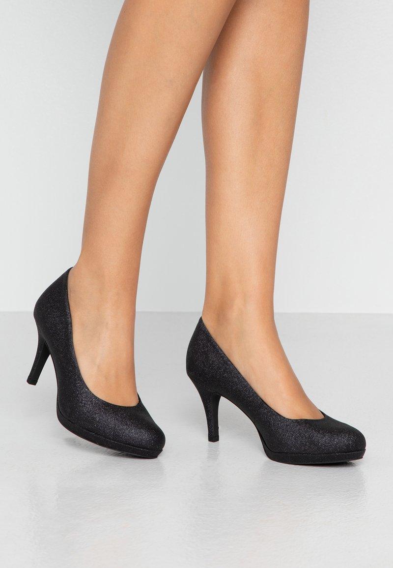 Tamaris - Klassieke pumps - black glam