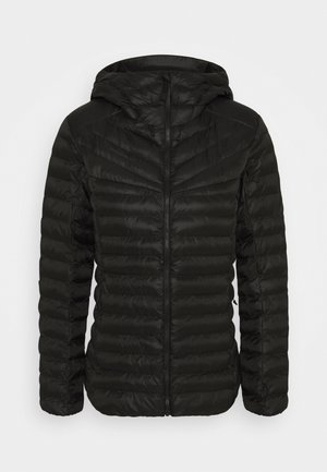 ALBULA IN HOODED JACKET WOMEN - Winterjacke - black