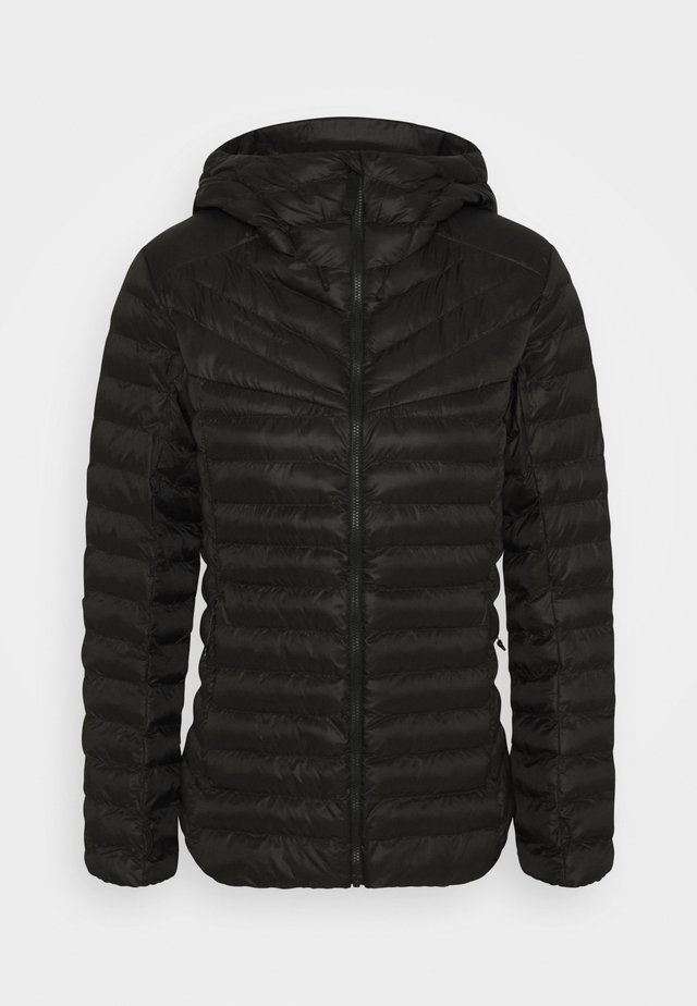 ALBULA IN HOODED JACKET WOMEN - Zimní bunda - black
