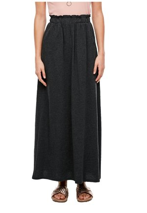 Maxi skirt - black melange