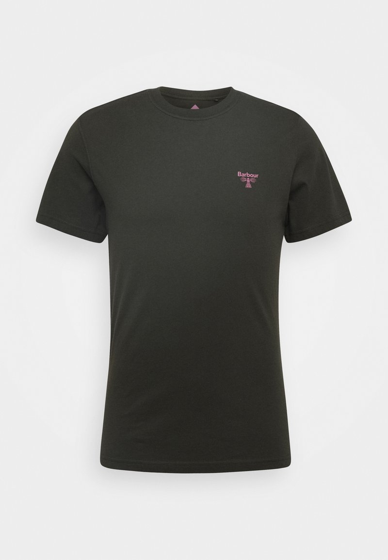Barbour Beacon - SMALL LOGO TEE - T-shirt - bas - forest