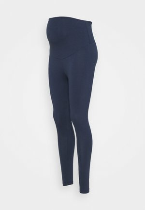 ROLL YOGA PANTS - Tracksuit bottoms - indigo
