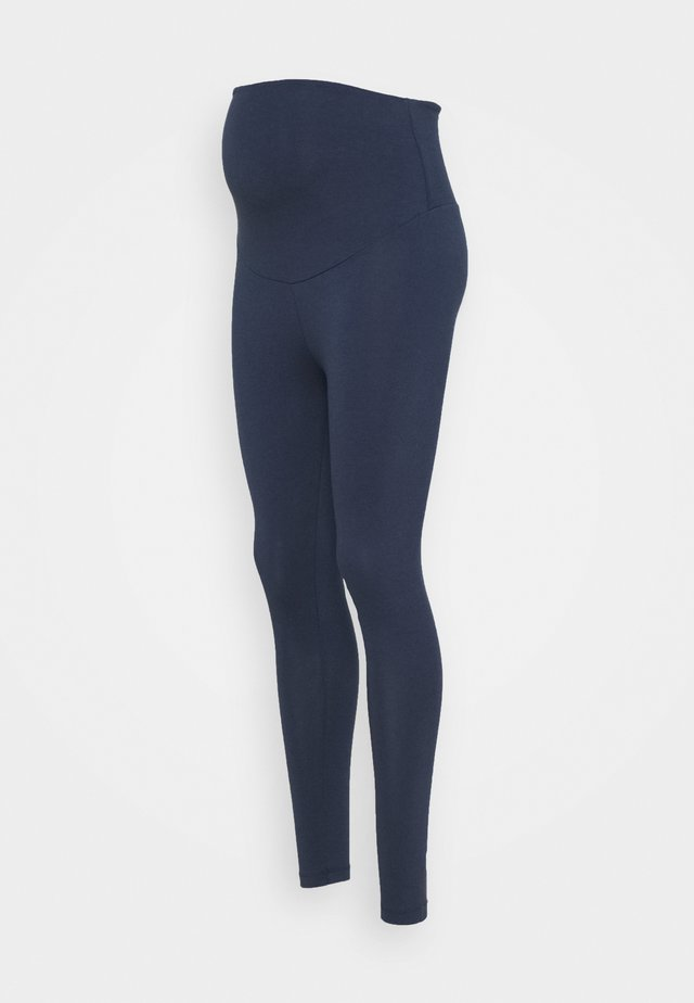 ROLL YOGA PANTS - Verryttelyhousut - indigo