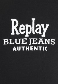 Replay - T-shirt con stampa - black - 7