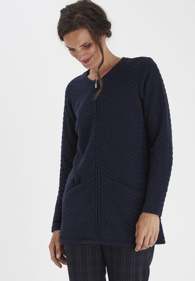 FRMECARDI - Cardigan - navy blazer