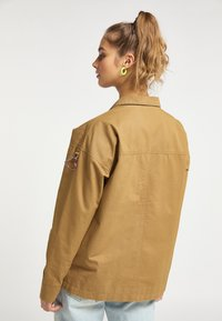 myMo - Light jacket - dunkelsand - 2