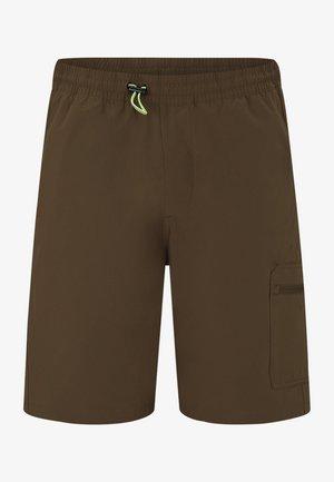 Short de sport - brown