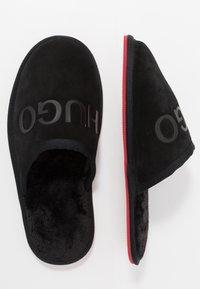 HUGO - COZY - Pantuflas - black - 1