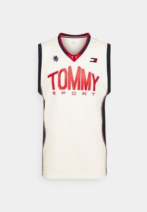 BASKETBALL ICONIC TANK - Sports shirt - white