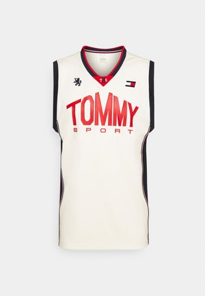 BASKETBALL ICONIC TANK - Funktionströja - white