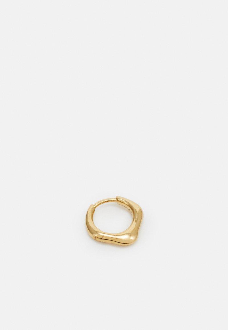 Maria Black - PENSO HUGGIE SINGLE - Ohrringe - gold-coloured