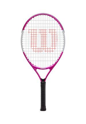 "WILSON MÄDCHEN TENNISSCHLÄGER ""ULTRA PINK 23"" BESAITET - Badminton racket - pink (315)"