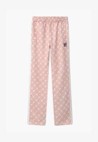 Fila - PIA  - Tracksuit bottoms - sepia rose/blanc de blanc - 0