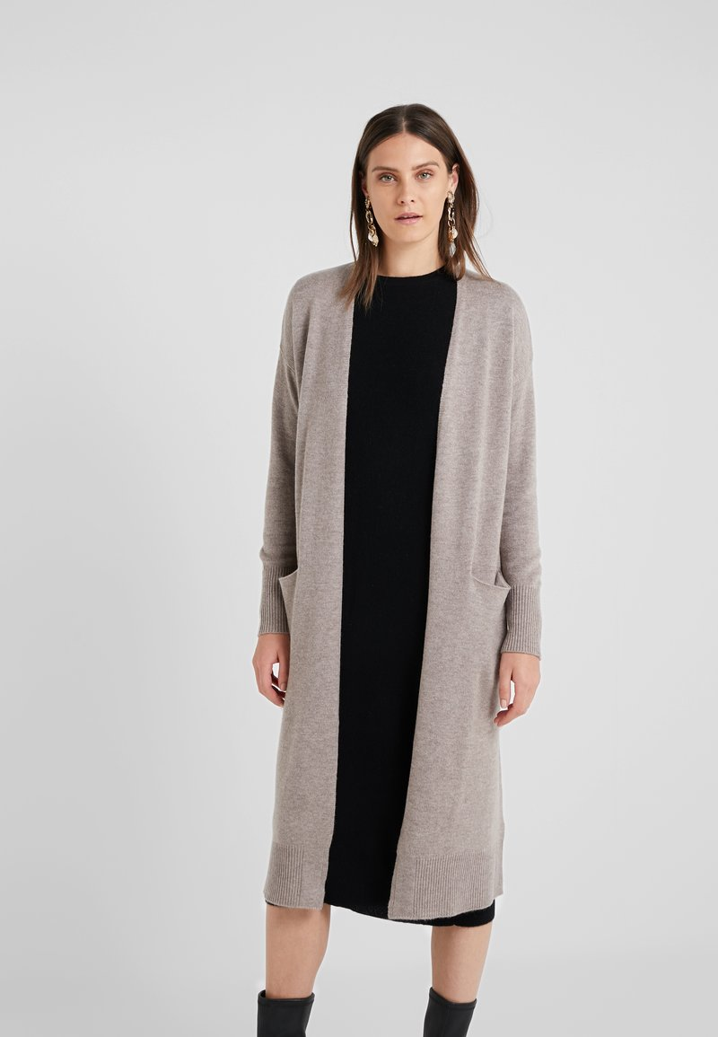 pure cashmere - LONG CARDIGAN - Strikjakke /Cardigans - beige
