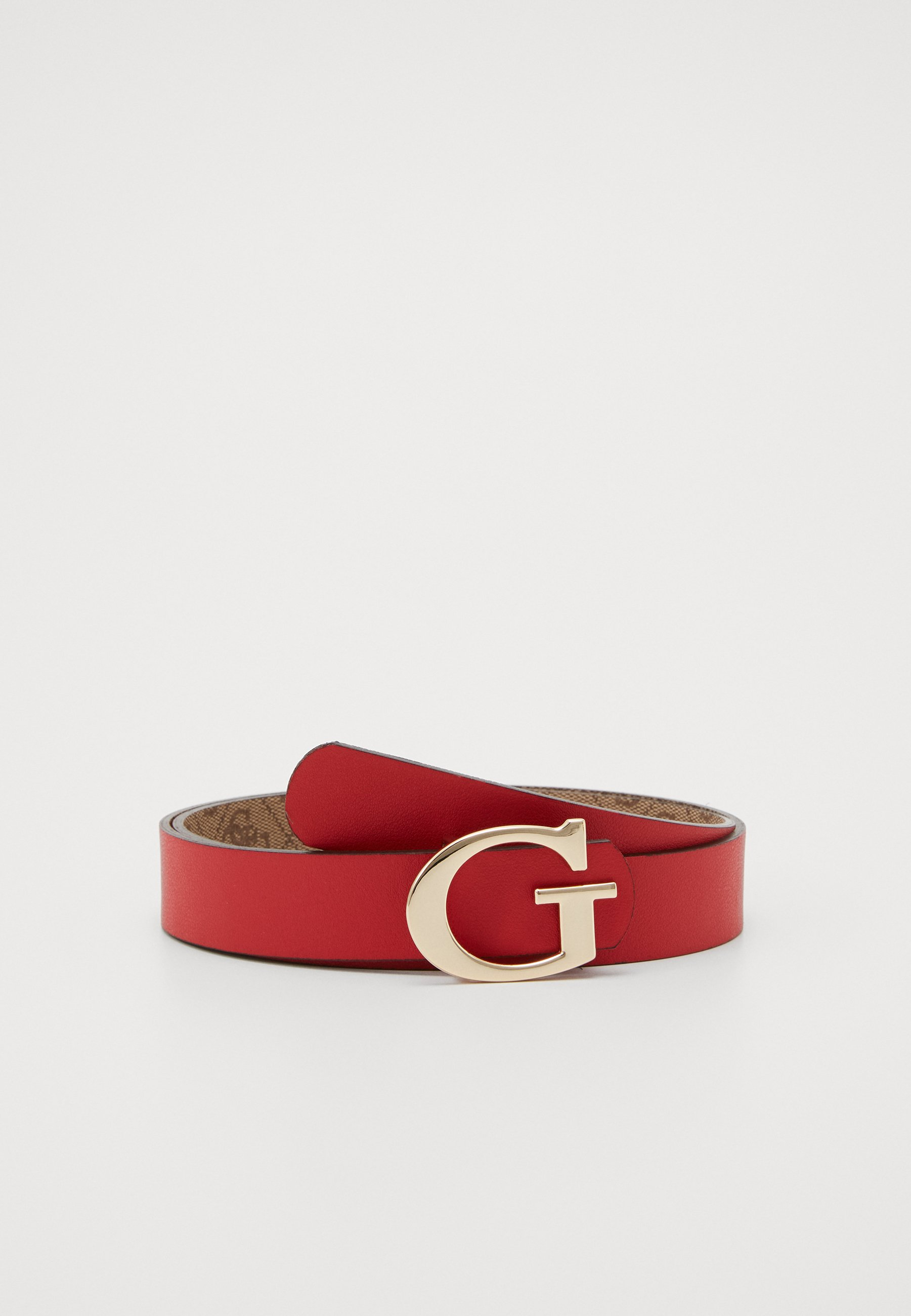Guess ALBY NOT ADJUST PANT BELT - Belte - brown/cherry/brun o6wy5S7DWd5cQIX