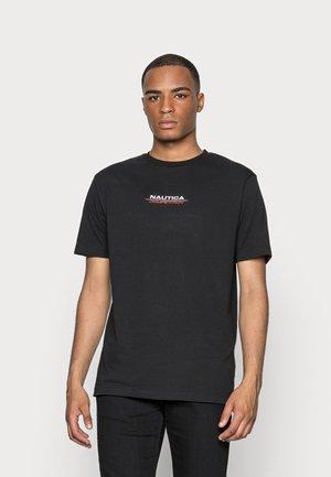 LARMAR TEE - Print T-shirt - black