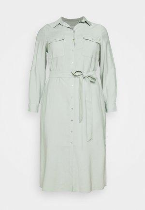 SEPS SHIRT DRESS - Sukienka koszulowa - soft sage