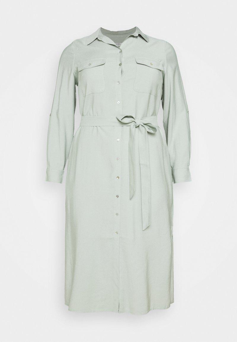 Forever New Curve - SEPS SHIRT DRESS - Shirt dress - soft sage