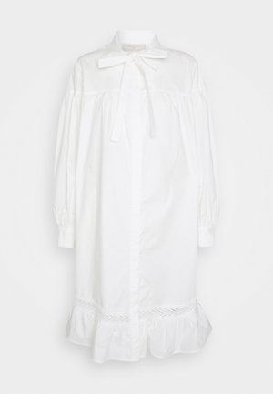 Shirt dress - off-white