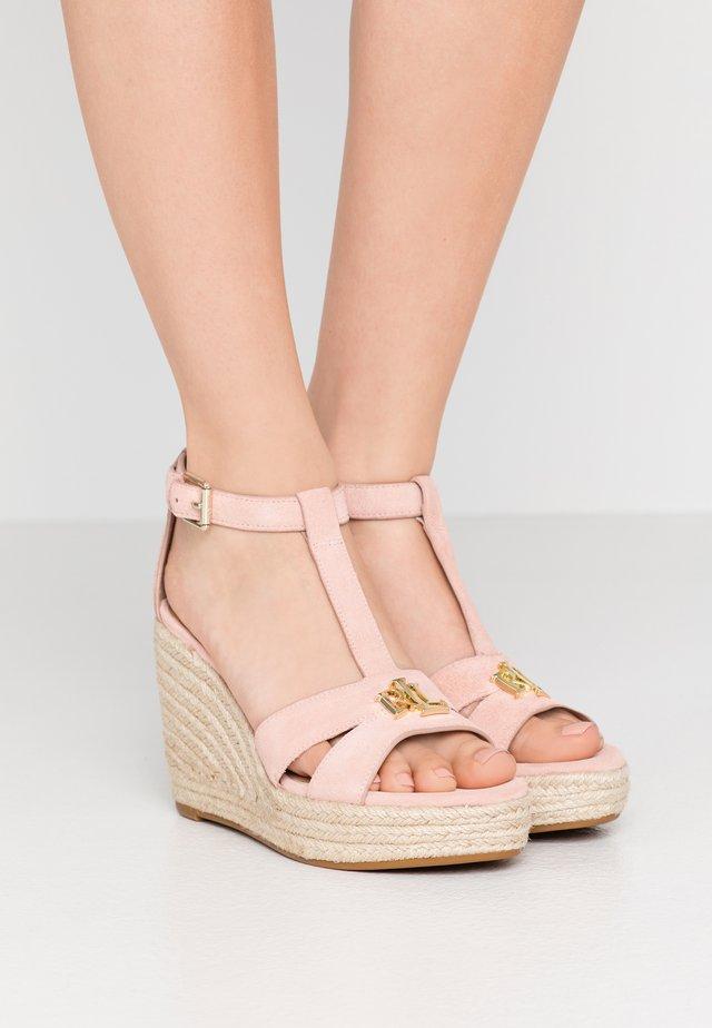 HALE - Sandaler med høye hæler - nude