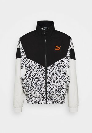 TRACK JACKET - Windbreakers - black