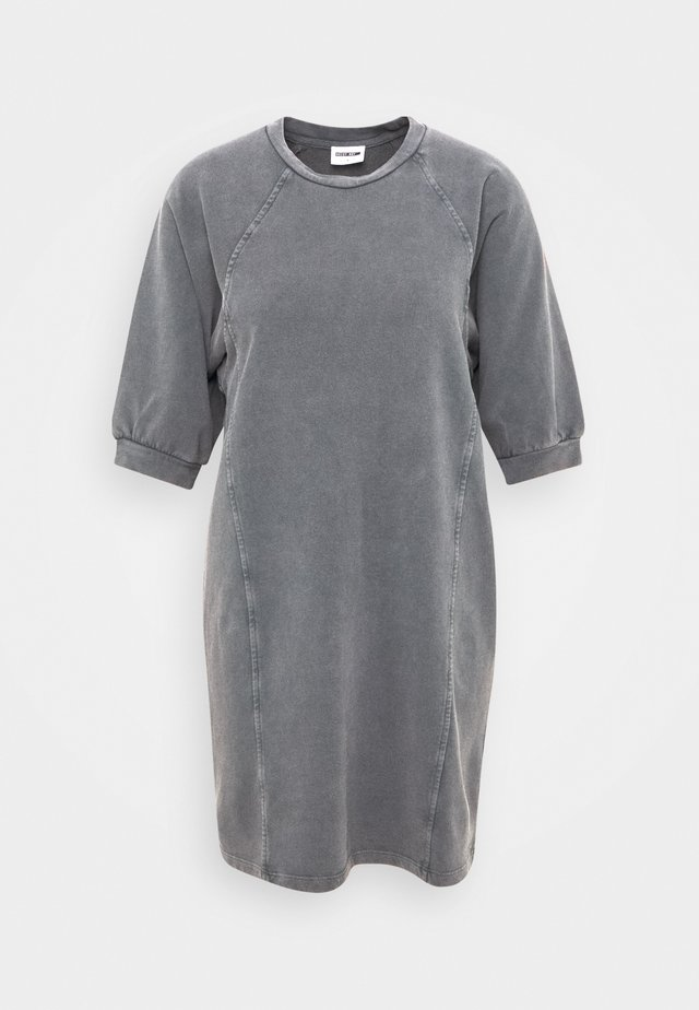 NMDARIA DRESS - Korte jurk - dark grey