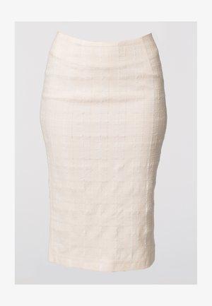 SANDY - Blyantnederdel / pencil skirts - cream