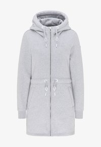 DreiMaster - Zip-up hoodie - hellgrau melange - 4