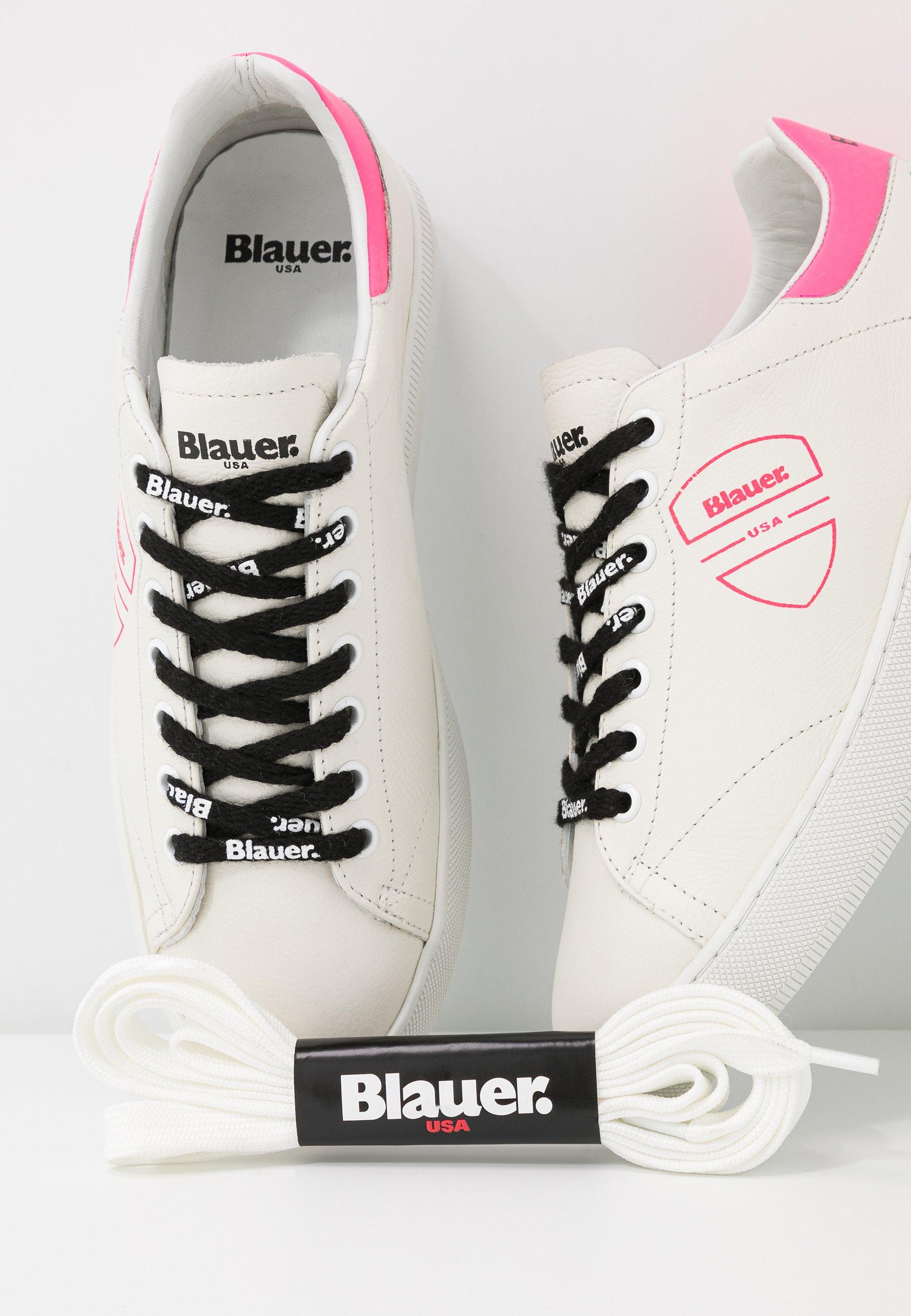 Blauer KENDALL - Joggesko - white/fuxia