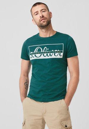 Print T-shirt - cedar