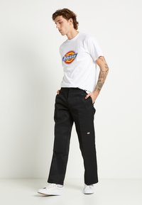 Dickies - DOUBLE KNEE WORK PANT - Stoffhose - black - 2