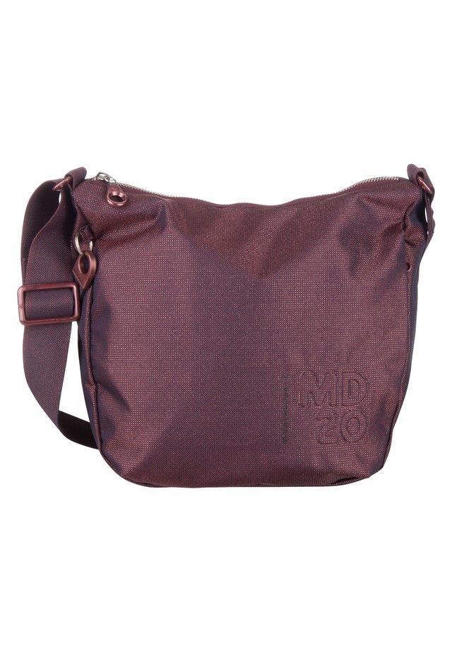 LUX BIG HOBO - Across body bag - blackberry syrup
