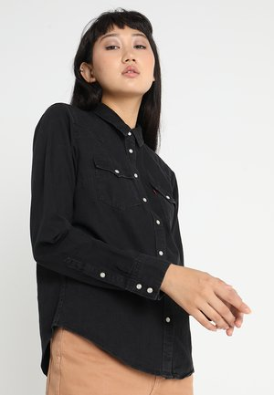 ULTIMATE WESTERN - Button-down blouse - shiny happy people