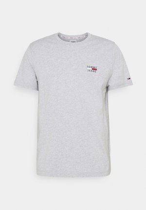 CHEST LOGO TEE - T-shirt con stampa - grey