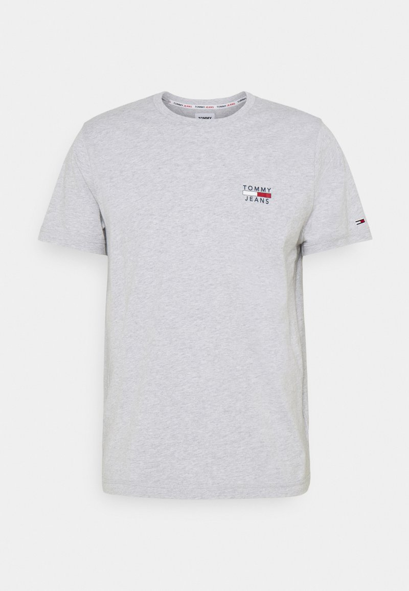 Tommy Jeans - CHEST LOGO TEE - T-shirt basic - grey