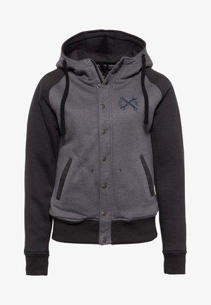Zip-up sweatshirt - hellgrau