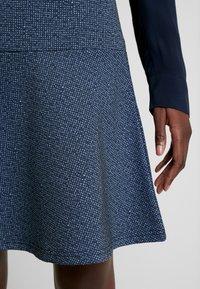TOM TAILOR - SKIRT CASUAL - Mini skirt - navy blue - 4