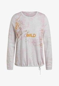 Oui - Sweatshirt - rose white - 6