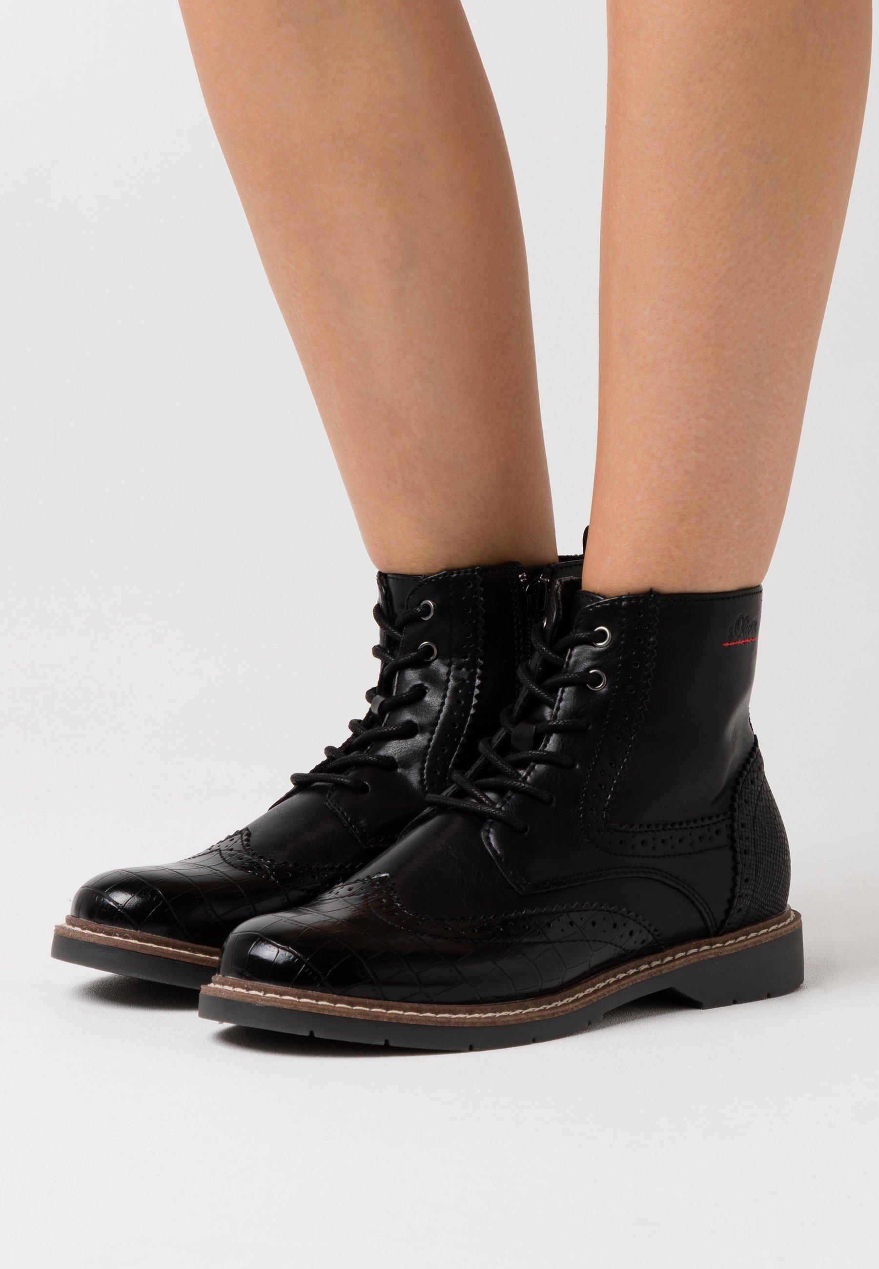 Damen BOOTS - Schnürstiefelette