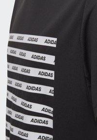 adidas Performance - ALL CAPS T-SHIRT - T-shirts med print - black - 2