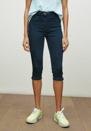 PEDAL PUSHERS - Trousers - dark blue