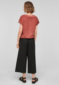 Q/S designed by - Trousers - black - 2