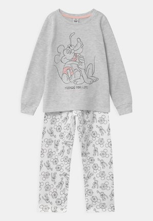 DISNEY MICKEY MOUSE & PLUTO - Pyjama set - grey melange