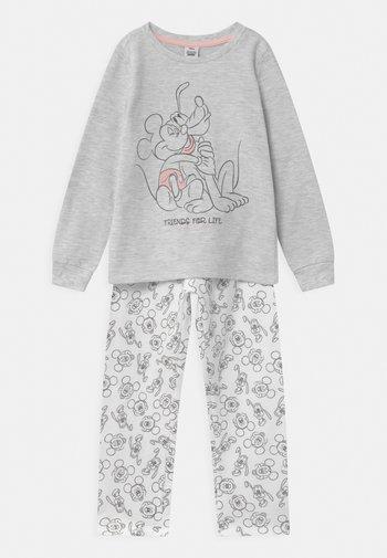 DISNEY MICKEY MOUSE & PLUTO - Pyjama set - grey melange
